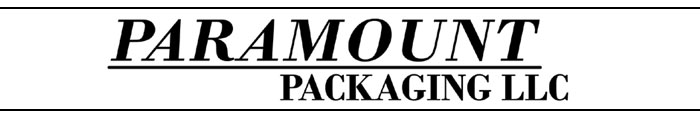 Paramount Packaging Logo